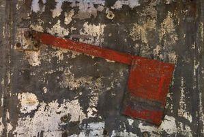 Cómo hacer Metal galvanizado ver viejo