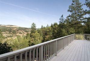 Códigos de construcción de Carolina del norte para barandas de terraza