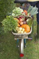 ¿Cuanto a espacio las verduras en un jardín elevado?