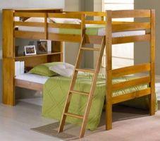 Cómo construir una litera encima de una cama doble