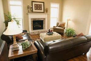 Cómo hacer pegamento de un sofá de cuero
