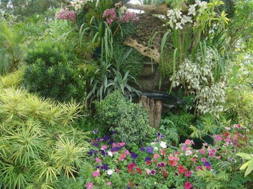Ideas de jardín de esquina