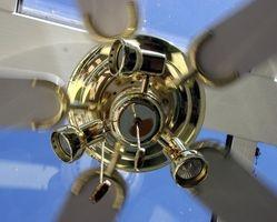 Cómo colgar una batería operado Gazebo ventilador con luces