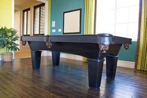 Cómo convertir una mesa de billar en una mesa de comedor