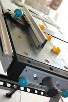 Sierra de mesa bricolaje Base móvil