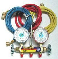 ¿Cómo funciona un manómetro de refrigeración R22?
