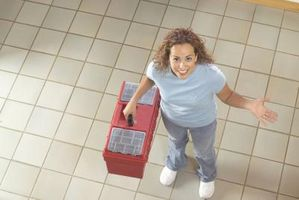Cómo usar metro azulejos en pisos