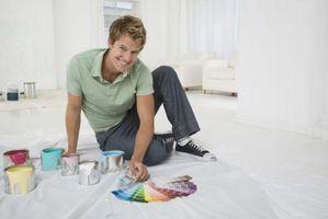 Cómo limpiar y pintar las paredes del sótano