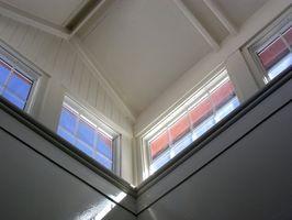 Cómo cortar moldura de techo de bóveda