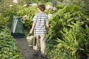 Vasos de bricolaje Compost Bin