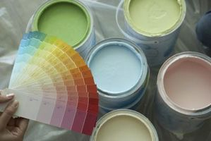 Buen Color para las paredes de pintura en una sala de estar