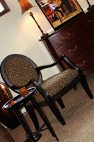 Técnica de pintura de laca negra para muebles