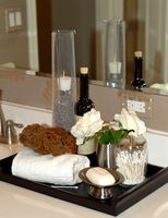 Ideas para mesas de maquillaje en baños