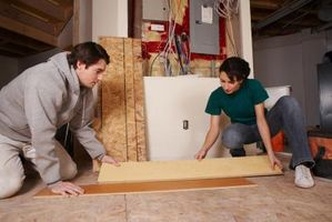 Cómo instalar corcho contrapiso para pisos de madera flotantes diseñados