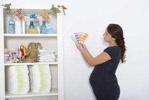 Cómo elegir colores para la habitación de un bebé