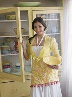 Cómo preparar los gabinetes de cocina