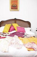 Cómo desenredar almohadas