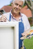 Cómo colgar un lienzo sin marco
