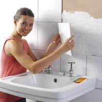 Cómo instalar azulejos y lechada en baño pisos y paredes