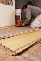 Colocación de suelo laminado sobre múltiples tipos de superficies