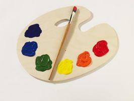 Cómo mezclar dos colores cuando esténcil