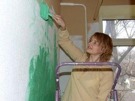 Cómo pintar de chimeneas de madera