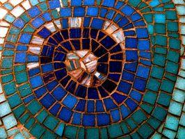 Cómo hacer zapatos mosaico raspadores