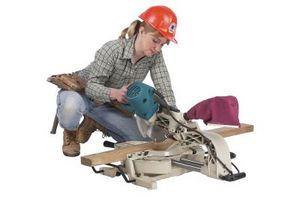 Cómo hacer ingletes cortes de carriles de silla