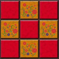 Ideas de azulejos de piso de mosaico de cerámica