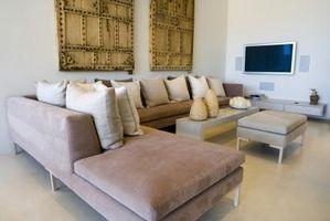 Sofá composable, Ideas de decoración para salas pequeñas