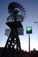 Sobre molinos de viento decorativos
