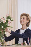 Cómo utilizar flores comunes en arreglos florales