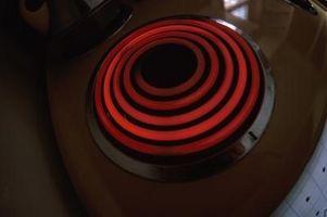 Manual de instrucciones para una estufa eléctrica de GE con auto limpieza horno