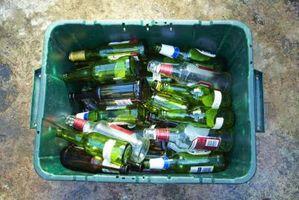 Ideas para encimeras de vidrio reciclado