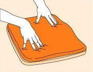 Cómo Tapice el asiento de la silla de un empotrable