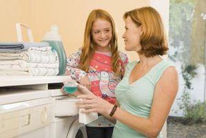Espacio protector lavadora y secadoras