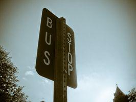 Cómo instalar una parada de autobús