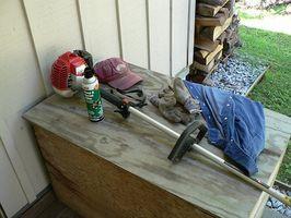 ¿Cómo solucionar una segadora de hierba?
