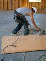 Cómo construir Bases para gabinetes de piso