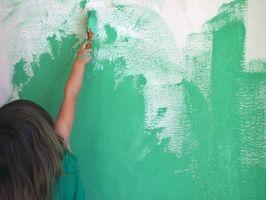 Cómo pintar la habitación de un bebé verde