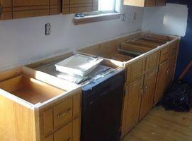 Cómo quitar las encimeras de la cocina