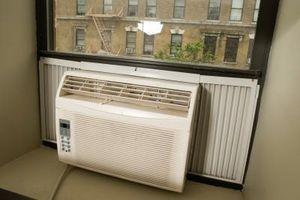 Cómo sellar una brecha de acondicionador de aire ventana
