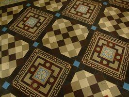 Cómo instalar azulejos sobre pisos de madera y