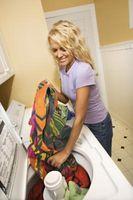Cómo desodorizar una lavadora de carga superior