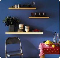 Cómo decorar con estantes