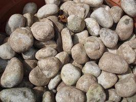 Cómo utilizar piedra grava arena