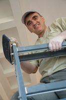 Instrucciones para un Gator Grip Drywall gancho y bucle poste lijadora