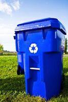 Cómo decorar los compartimientos de reciclaje