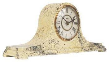 Cómo ajustar los relojes de repisa de la chimenea