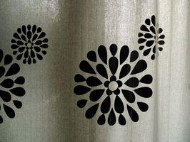 Cómo trabajar con la tela de las cortinas tratadas